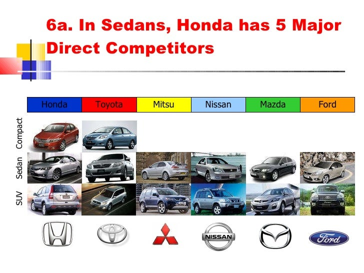 competitors of honda Much like most of the competition, the honda subcompact sedan also draws  power from a 12-litre petrol engine that is paired to a 5-speed.