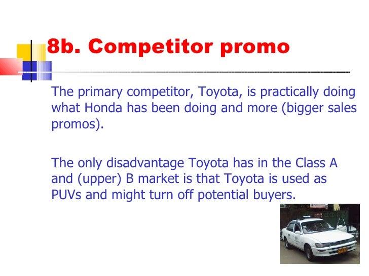 Marketing Strategy of Honda