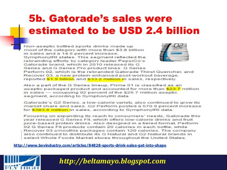 gatorade marketing mix Organisational structure of gatorade : marketing mix of gatorade financial analysis of gatorade swot analysis on gatorade human resource management of gatorade friends: bookmarks: delicious stumbleupon google.