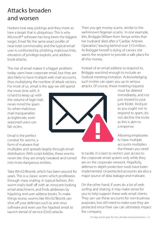 10 step plan for business email protection