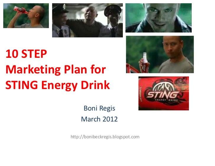 Sting Energy Drink Marketing Plan
