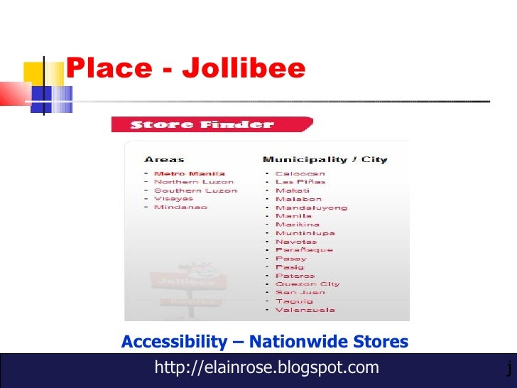 marketing plan of jollibee pdf