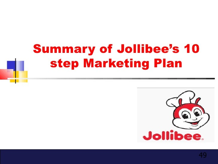 what are the strategic plan of jollibee Jollibee is the largest fast food chain in the philippines, operating nationwide of   a strategic plan is like an outline for carrying out the strategy and achieving.