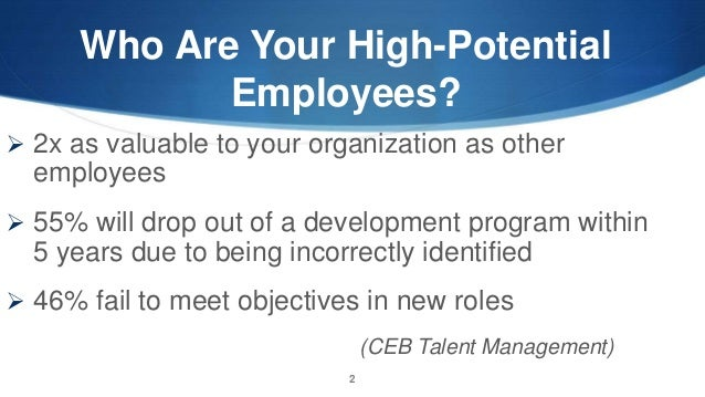 1 outline the talent management program that led to success for the company