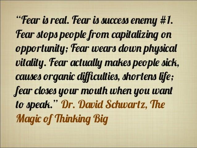 10 Steps to Get Beyond Fear Slide 2