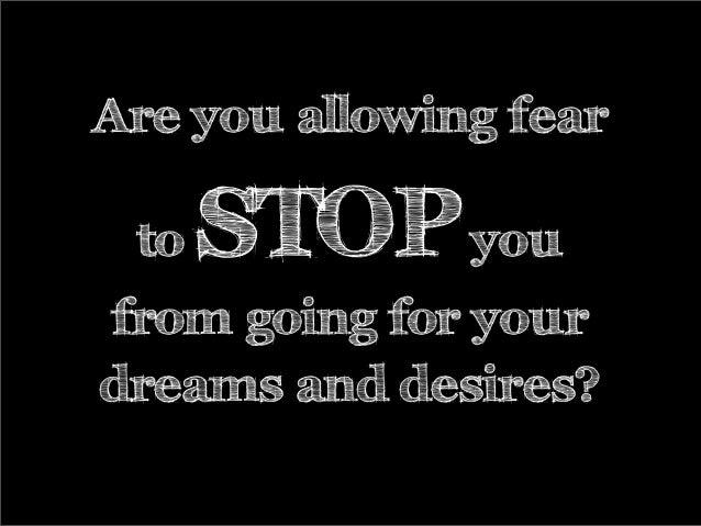 10 Steps to Get Beyond Fear Slide 3