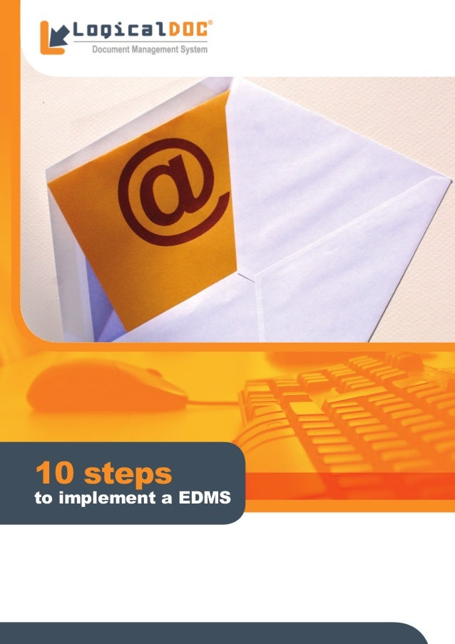 10 steps to implement a EDMS