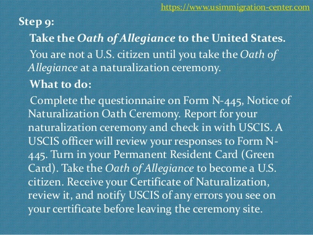 10 steps to naturalization