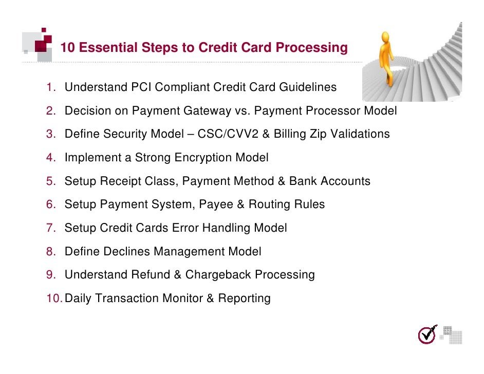 10 steps to secure and pci compliant credit card