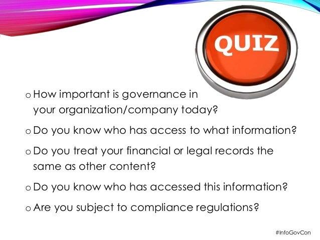 10 Steps Toward Information Governance Nirvana Slide 3