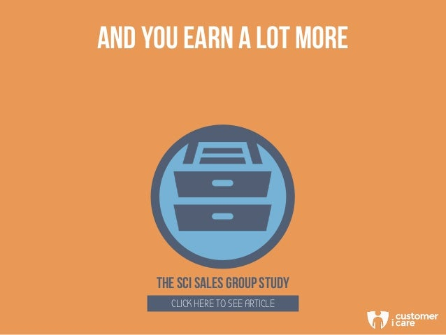 AND YOU EARN A LOT MORE THE SCi SALES group study CLICK HERE TO SEE ARTICLE