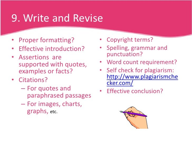 steps writing effective essay Free tips on steps in writing the essay: follow these steps to conduct an effective editing: print out the copy of your essay and edit it manually.
