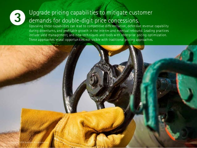 Upgrade pricing capabilities to mitigate customer demands for double-digit price concessions. Upscaling these capabilities...