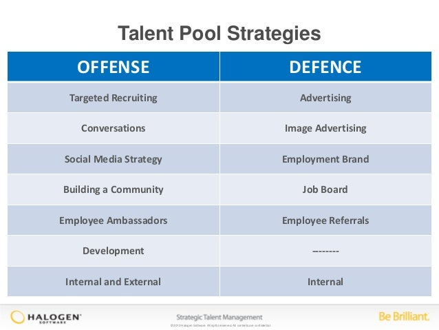 10 Strategies For Building A Talent Pool That Makes