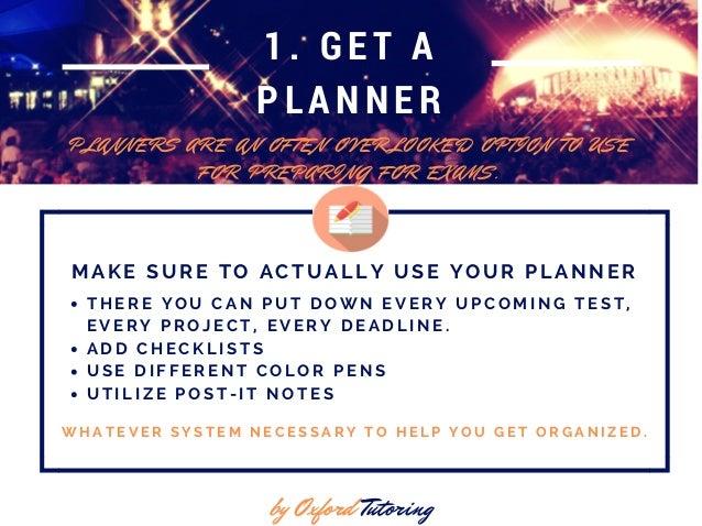 10 Study Tips for Finals Slide 2