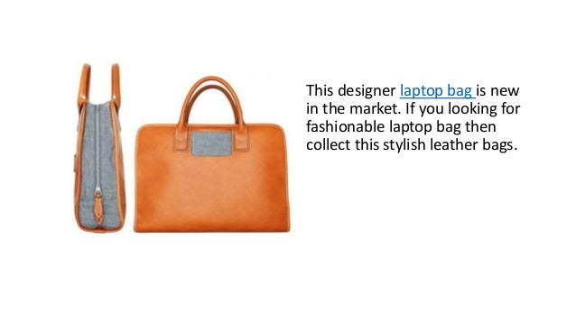 Women designer leather laptop bag can be your best friend in your  professional life. 9. 83553f4b1
