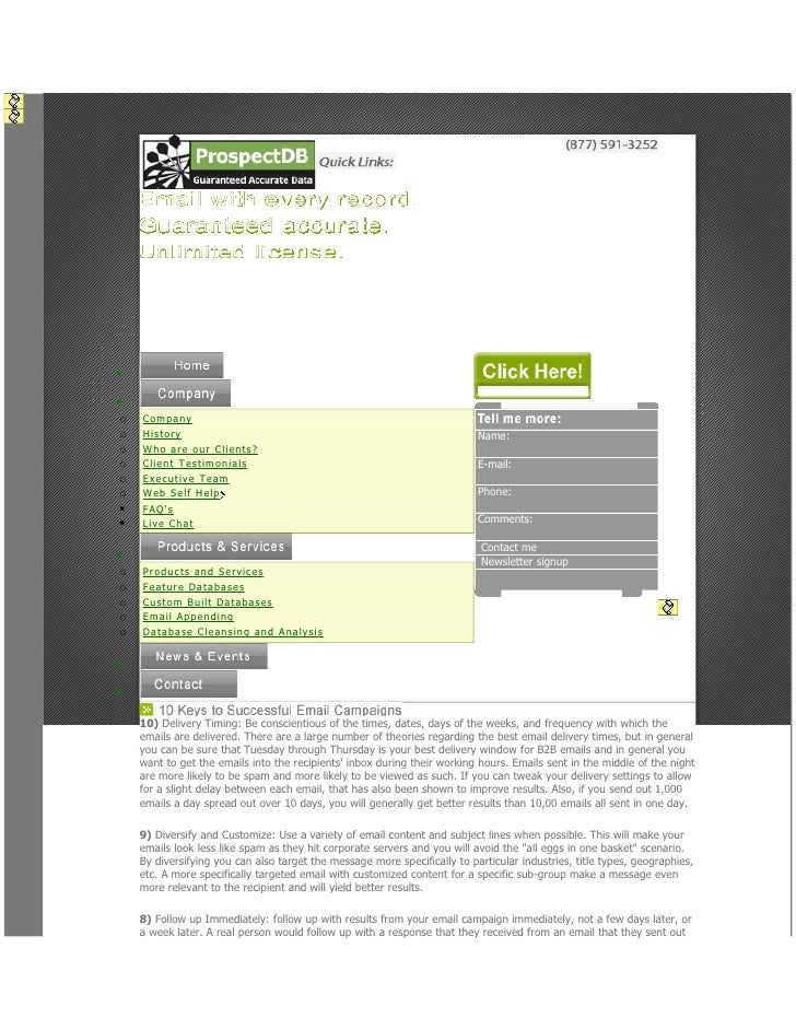 •• o   Compan y o   History                                                                Name: o   Wh o ar e ou r Client...