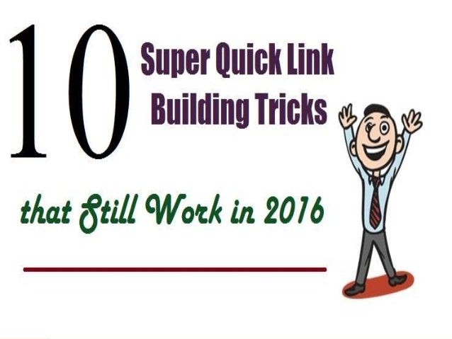 You might be a novice, or an expert in building links to a page, you must be willing to learn a few link building tips tha...