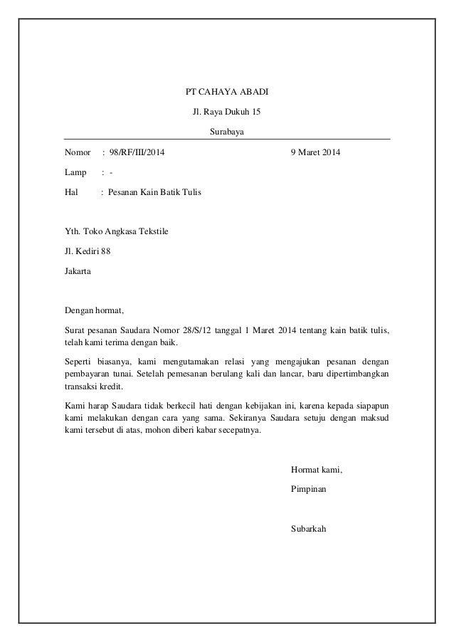10 surat keluar pdf
