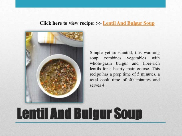 10 tasty easy to prepare soup recipes for Easy tasty soup recipes