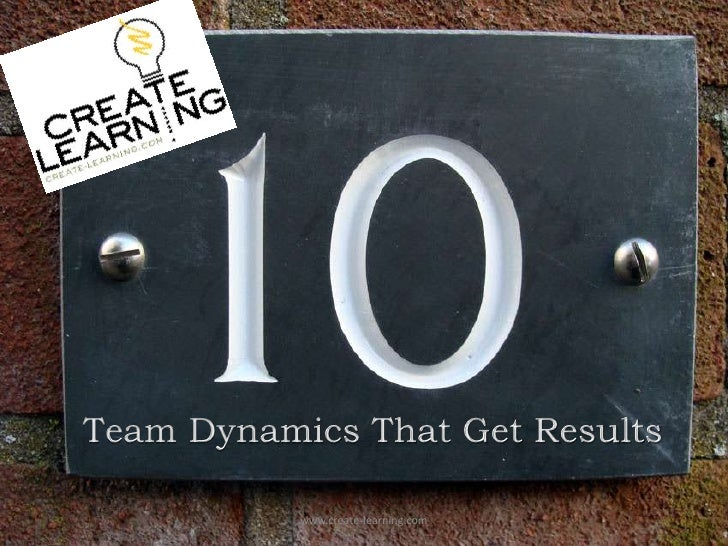 Team Dynamics That Get Results<br />www.create-learning.com<br />