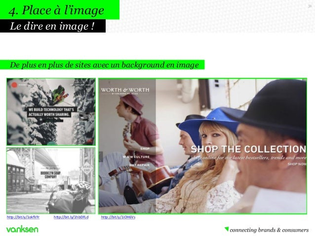 4. Place à l'image Le dire en image !  De plus en plus de sites avec un background en image  http://bit.ly/1okfVFr  http:/...