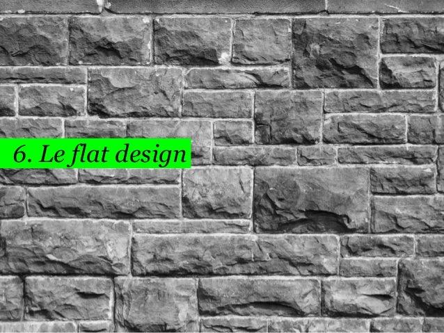 44  6. Le flat design