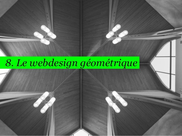 61  8. Le webdesign géométrique