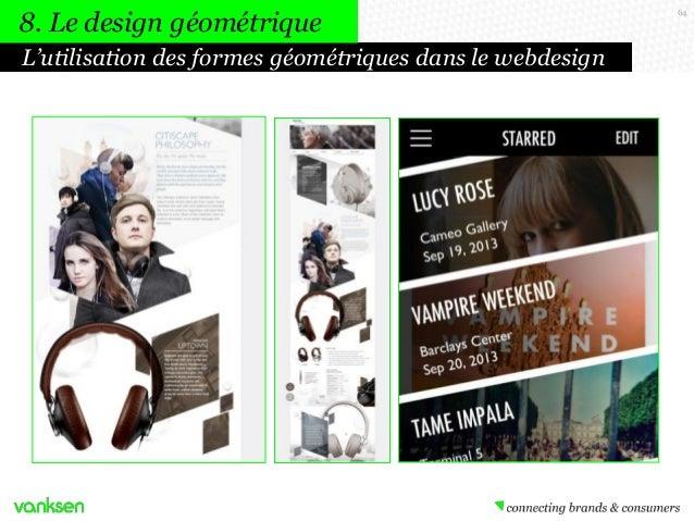 8. Le design géométrique L'utilisation des formes géométriques dans le webdesign  64