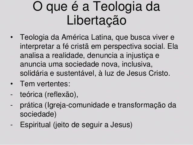 (10) teologia da libertação Slide 3