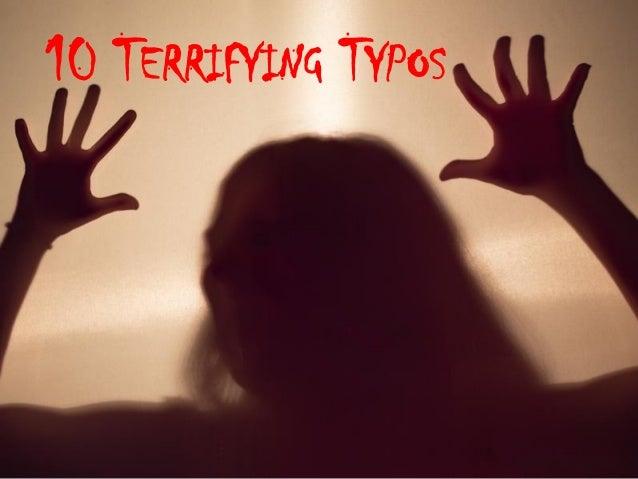10 TERRIFYING TYPOS