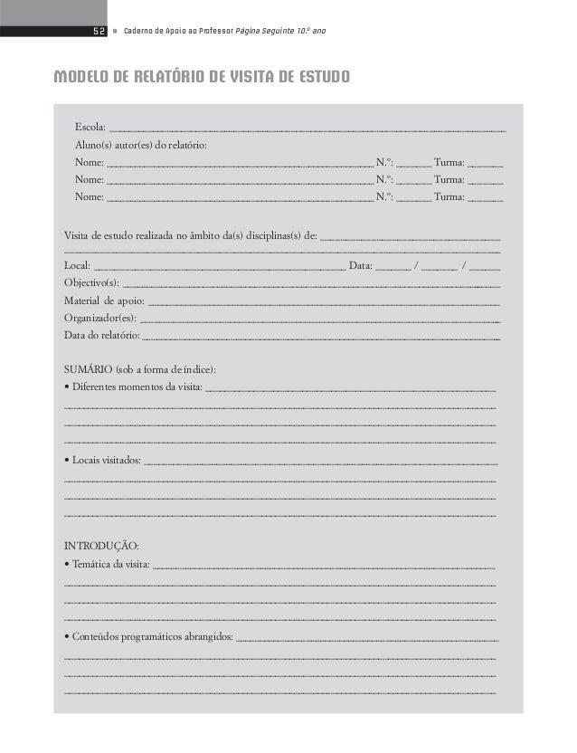54 • Caderno de Apoio ao Professor Página Seguinte 10.o ano  Modelo de Contrato de Leitura  Entre o primeiro contraente __...