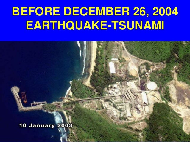 The sumatran tsunami of december 26