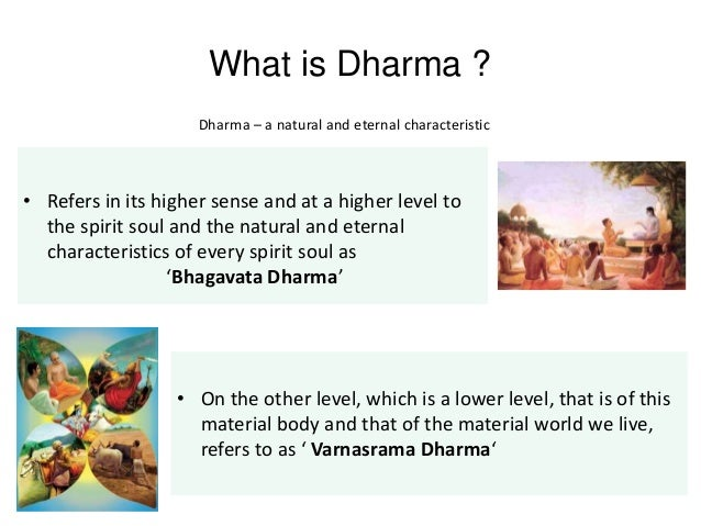 understanding varnasrama through bhagavata dharma International society for krishna consciousness as it is  51 sanatana-dharma  according to the understanding that his divine grace is an exalted.