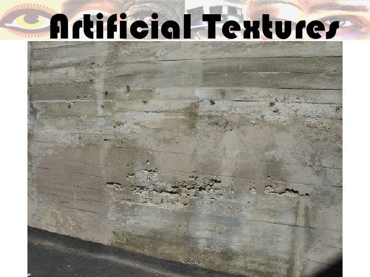 Artificial Textures