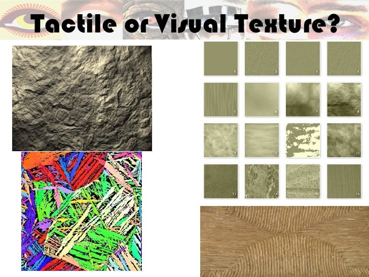 Tactile or Visual Texture?