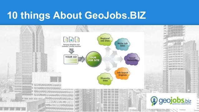 10 things About GeoJobs.BIZ