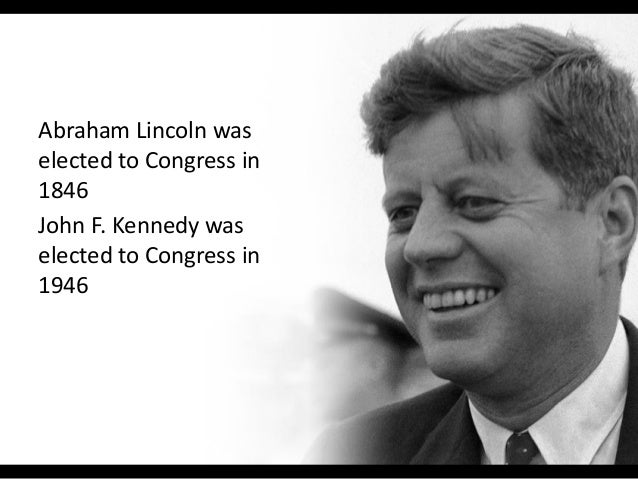 10 things abraham lincoln and john f kennedy have in common Slide 2