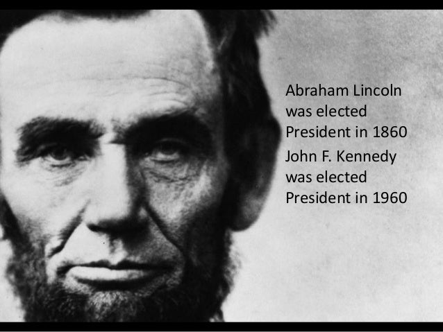 10 things abraham lincoln and john f kennedy have in common Slide 3