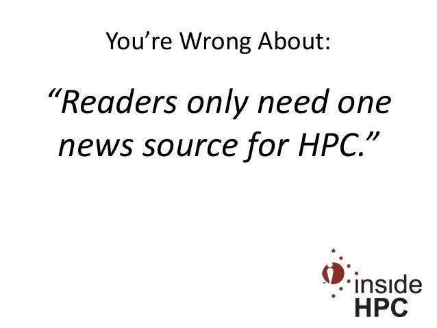 10 Things You're Wrong About in HPC
