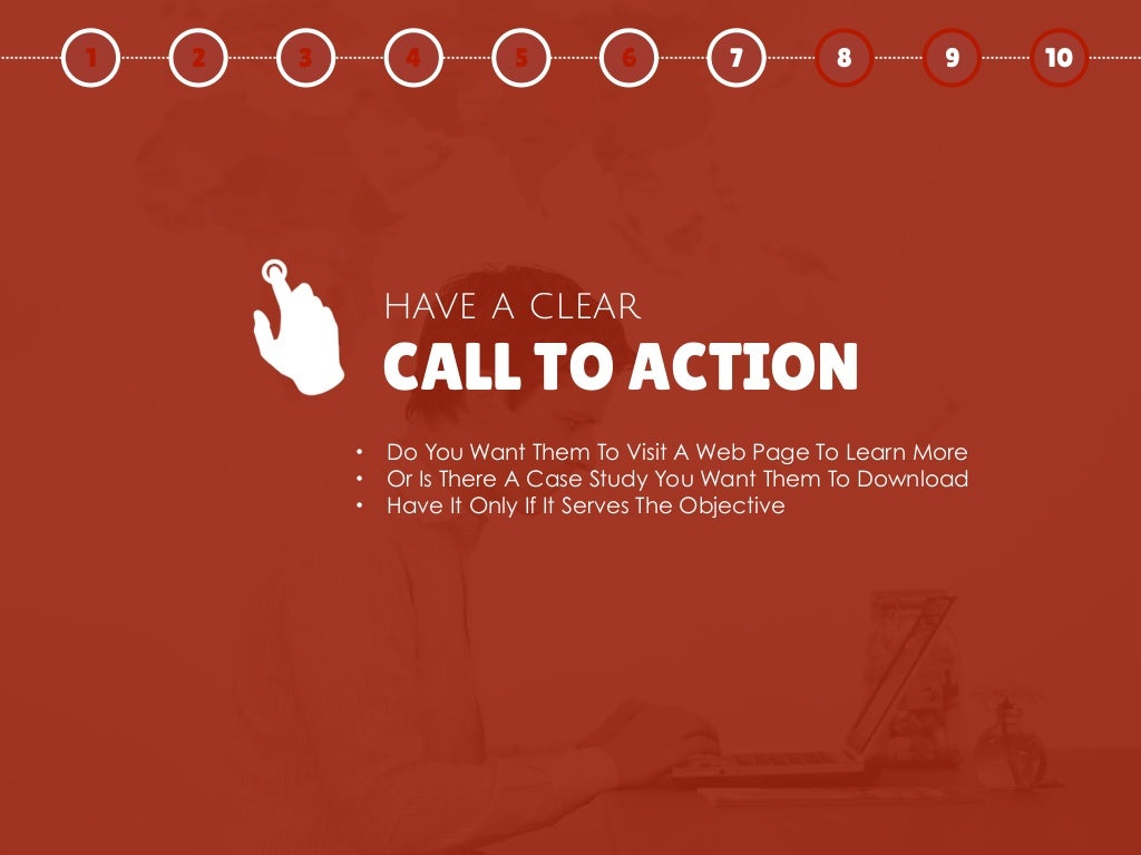 Call To Action Have A
