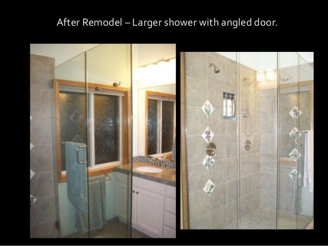 My Office After Remodel U2013 Larger Shower With Angled Door.