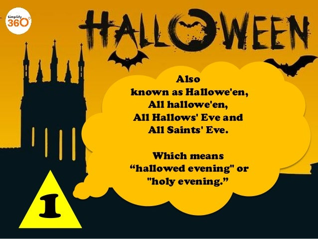 10 Things you need to know about Halloween Slide 2