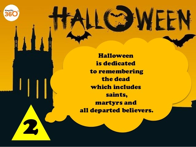 10 Things you need to know about Halloween Slide 3