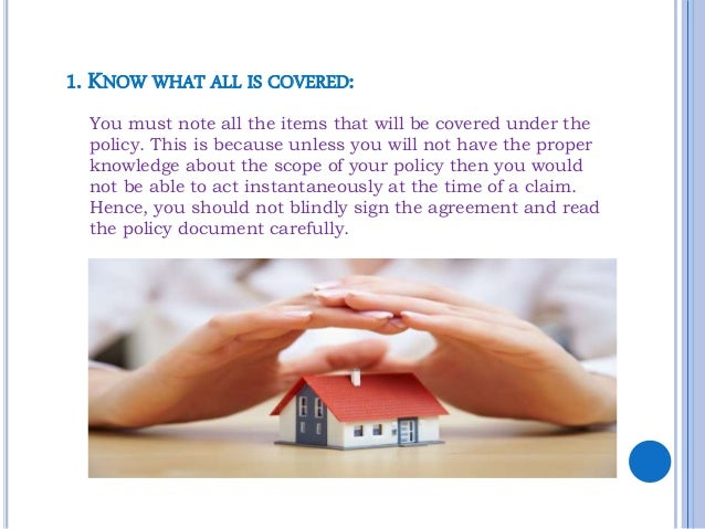10 things you should know about your home insurance Slide 3