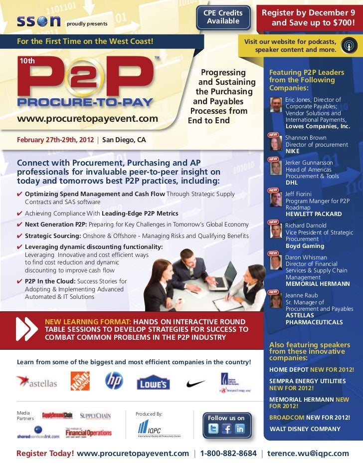 CPE Credits        Register by December 9                 proudly presents                                 Available      ...