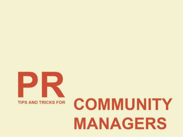 WHAT DOES A PR PERSON DO? • Spreading information between an individual or organization and the public • Reputation manage...