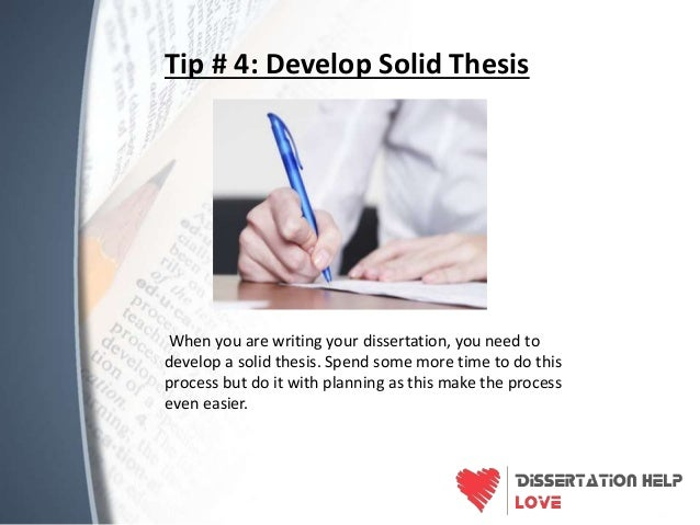 Dissertation writing helps    tips to finish your project in time SlideShare