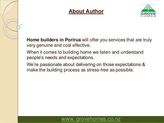 leading new home builder in wellington new zealand grove homes