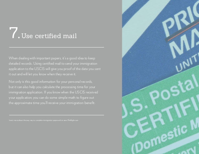 Use certified mail7. When dealing with important papers, it's a good idea to keep detailed records. Using certified mail t...